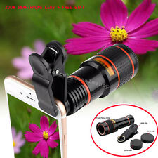 12X Telescope Zoom Camera Lens Mark 3 HD Lux for Samsung iPhone Sony + free gift