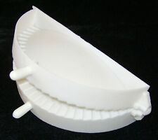 """NEW MEAT PIE MAKER FILLED CORNISH PASTY PATTY HINGED MOULD PRESS 5.5"""" 14cm BAG"""