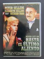 DVD HASTA EL ULTIMO ALIENTO Richard Todd Peter Sellers E Sellars JOHN GUILLERMIN