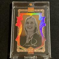 MARIA SHARAPOVA 2015 UPPER DECK MC-MS MASTER COLLECTION AUTOGRAPH AUTO /20 ATP