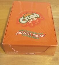 Dark Chocolates With Orange Crush Filling Candy Sealed Carton Turin Gourmet Rare