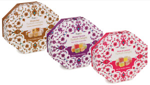 300g Mixed Nut, Rose Lemon, Mixed Flavour Turkish Delight Present Sweets Eid