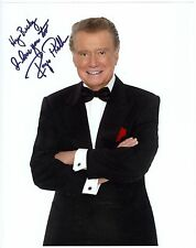 Regis Philbin autographed 8 x 10 color photo autograph signed