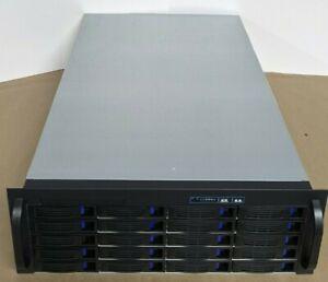NORCO RPC 4020 4U Rackmount Server Case, 20 Hot-Swappable SATA/SAS Drive Bays