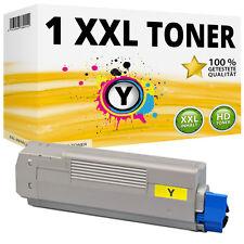 1x XXL TONER Patrone Gelb für OKI Data C5650N C5650DN C5750N C5750DN