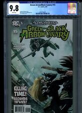 Green Arrow and Black Canary #15 CGC 9.8 (2009) 1st First Cupid Carrie Hartnell