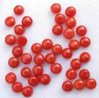 100/% Natural Red Coral Round Tube Shape Cabochon Loose Gemstone For Jewelry 4.65 Ct 18X5 MM AAA Quality Red Coral