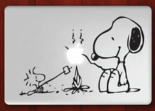 """Snoopy Apple Macbook Pro Air 13"""" Mac Sticker Decal Skin Vinyl Cover For Laptop"""
