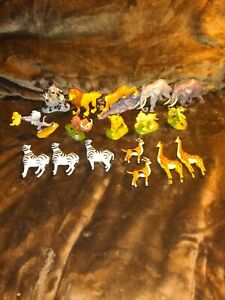 Disney's The Lion King MEGA Figurine Set 17 Piece Play Set Animals