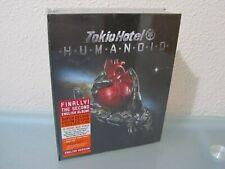 TOKIO HOTEL-HUMANOID-CAJA SUPER DELUXE-NUEVO-envios combinados.