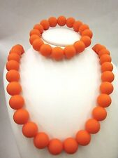 Chewable Teething Necklace and Bracelet Set for Teething Babies or Nursing Moms.