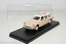 RIO 99 CITROEN ID DS 19 BREAK AMBULANCE PINK VN MINT BOXED