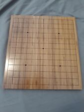 Bamboo Table Go Board 13x13 Reversible