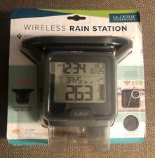La Crosse Technology 724-1409 Wireless Digital Rain Gauge with Temperature NIB