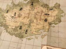 Carte Jumanji : Bienvenue dans la jungle - MAP Replica JUMANJI