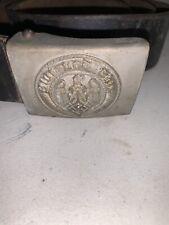 Rare Antique Wwii Germany Belt Buckle Belt