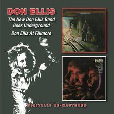 DON ELLIS - NEW DON ELLIS BAND GOES UNDERGROUND/DON ALLIS AT F 2 CD NEUF
