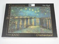 Clementoni 1000 Piece Jigsaw Van Gogh Starry Night Over The Rhone D'Orsay Museum