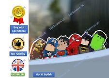 New car styling decor comic cartoon Avengers character reflective sticker UK