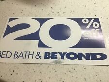 BED BATH & BEYOND: 20% Off Entire Purchase coupon