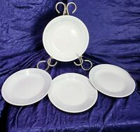 Correlle Blue Lily Bread+Butter Plate 6 3/4 inch Set of 4