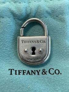 Tiffany & Co Arc Lock Charm Key Hole Sterling Silver 925