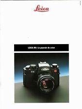 LEICA  _ R6 _ boitier objectifs accessoires _ 1989