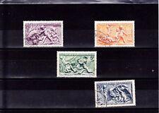 France 1949 - Série complète ART T. oblitérés  YT 859 à 861