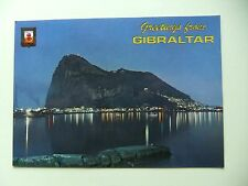 Greetings from Gibraltar showing the Rock -Postcard