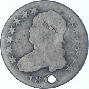 Worn Date 25 Cent Charles Coin Collection *574