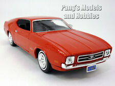 Ford Mustang Sportsroof (1971) 1/24 Scale Diecast Metal Model by Motormax - RED