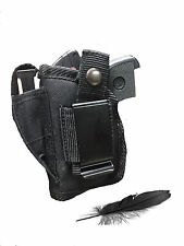 Concealed Gun Holster Fit Beretta 950 Jetfire with Laser. For Hip or IWB