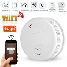 WiFi Rauchmelder Fotoelektrischer Sensor Gasmelder Sprachwarnung Mit Tuya