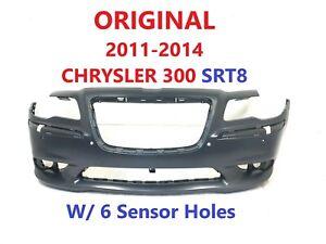 OEM 2011 2012 2013 2014 chrysler 300 SRT8 front bumper cover 6 sensor holes #15