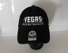 NWT VEGAS GOLDEN KNIGHTS NHL '47 Brand Clean Up Adjustable Dad Strapback Hat