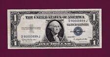 Fr.1618  $1  1935 H  SILVER CERTIFICATE NOTE NOTE FANCY SERIAL # D 90000899 J