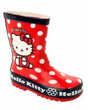 Rot Gummistiefel Schuhe für Mädchen