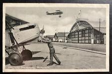 1938 Utrecht Netherlands RPPC postcard Cover flying camp In soesterberg