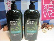 Bath and Body Works  2 Aromatherapy Stress Eucalyptus Spearmint Body Lotion