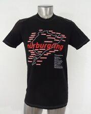 Nurburgring Motor Sports race track Rhineland men's t-shirt black M