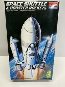 Academy 1:288 Space Shuttle & Booster Rockets Sealed Inside Model Kit NASA NoRes
