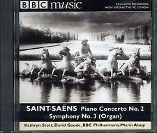 SAINT-SAENS - PIANO CONCERTO NO 2: KATHRYN STOTT + SYMPHONY NO 3: ALSOP: BBC CD