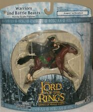 Aragorn On Horseback Warriors And Battle Beasts Figures The Lord Of The Rings