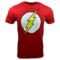 The Flash Men's T-shirt -Logo-DC Comics-Universe -RED - 100%cotton -M, L, XL,2XL