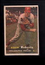 1957 TOPPS #15 ROBIN ROBERTS VG  D8283