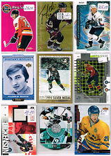HUGE Lot Of 1999-00 Autos - Game Used - Rookies - Parallels - Inserts - Base