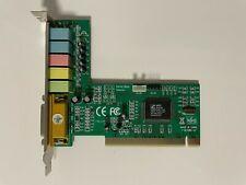 6 Channel PCI Sound Card HSP56 CMI 8738 / PCI-SX HRTF Audio Com Soundkarte