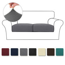 Jacquard Stretch Sofa Seat Cushion Covers Soft Anti-slip Chair Couch Slipcovers