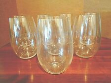 Set of 8 Unbreakable Stemless Wine glasses