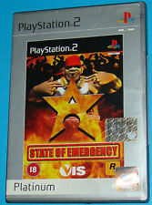State of Emergency - Sony Playstation 2 PS2 - PAL